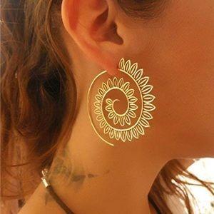 Gypsy Gold Hoop Earrings